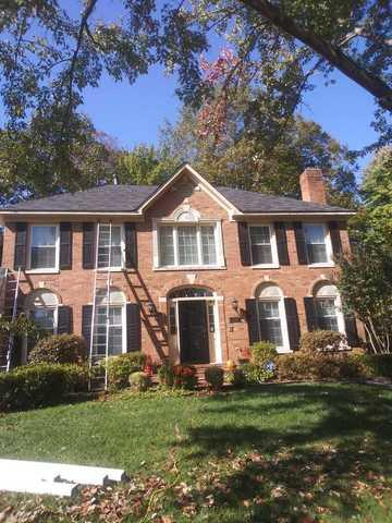 Mastershield system install in McLean, VA. - Before Photo
