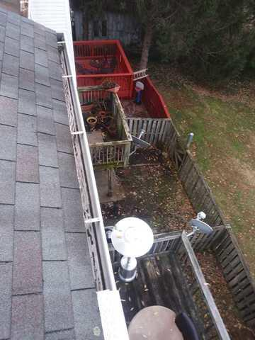 Home in Warrenton, VA. gets MasterShield - Before Photo