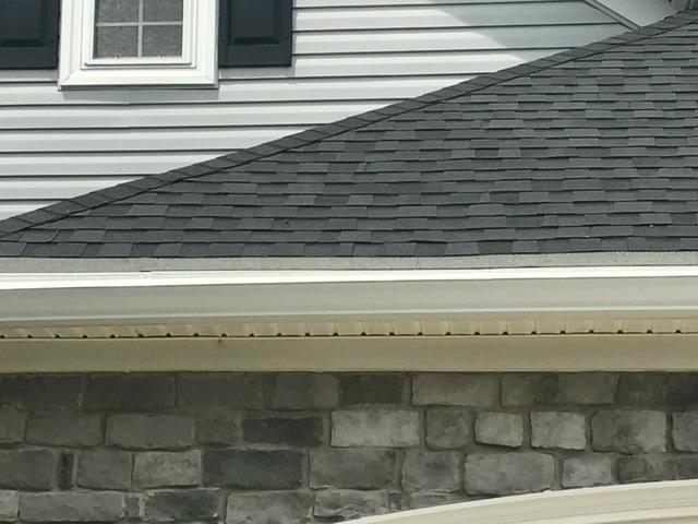 MasterShield Gutter Guard Installation in Gainesville, VA - After Photo