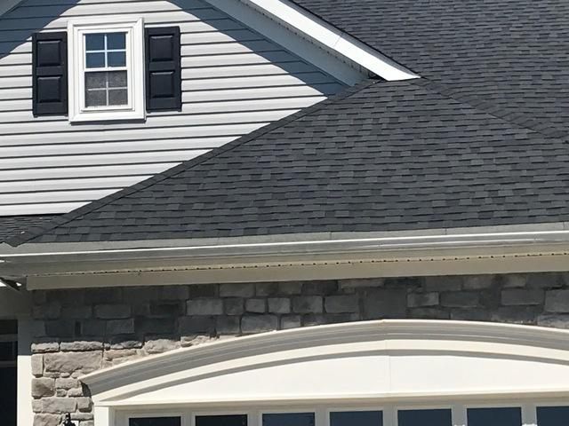 MasterShield Gutter Guard Installation in Gainesville, VA - Before Photo