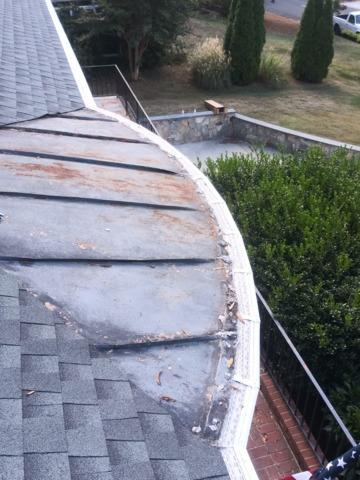 Tired of cleaning gutters