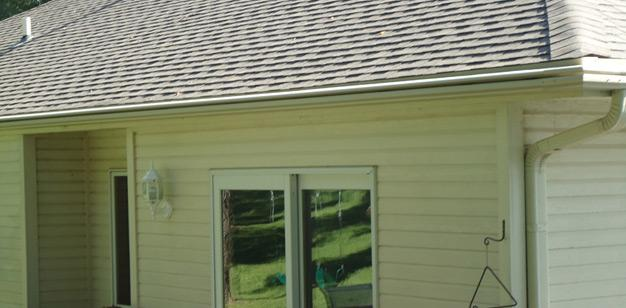 Gutters Installed on Home in Glenwood, IA - After Photo