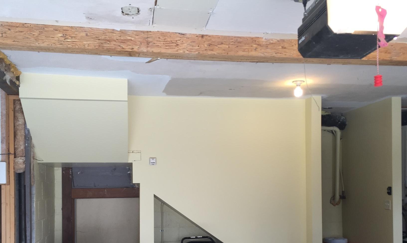Garage Insulation in Omaha, NE - Before Photo