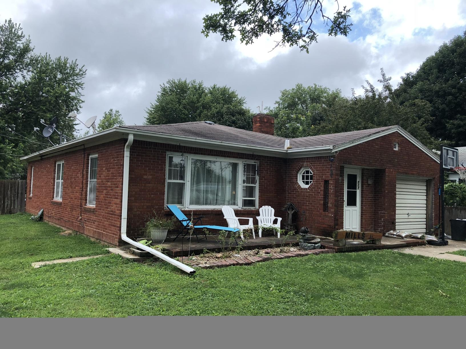 New Roof & Gutters in Malvern, IA - Before Photo