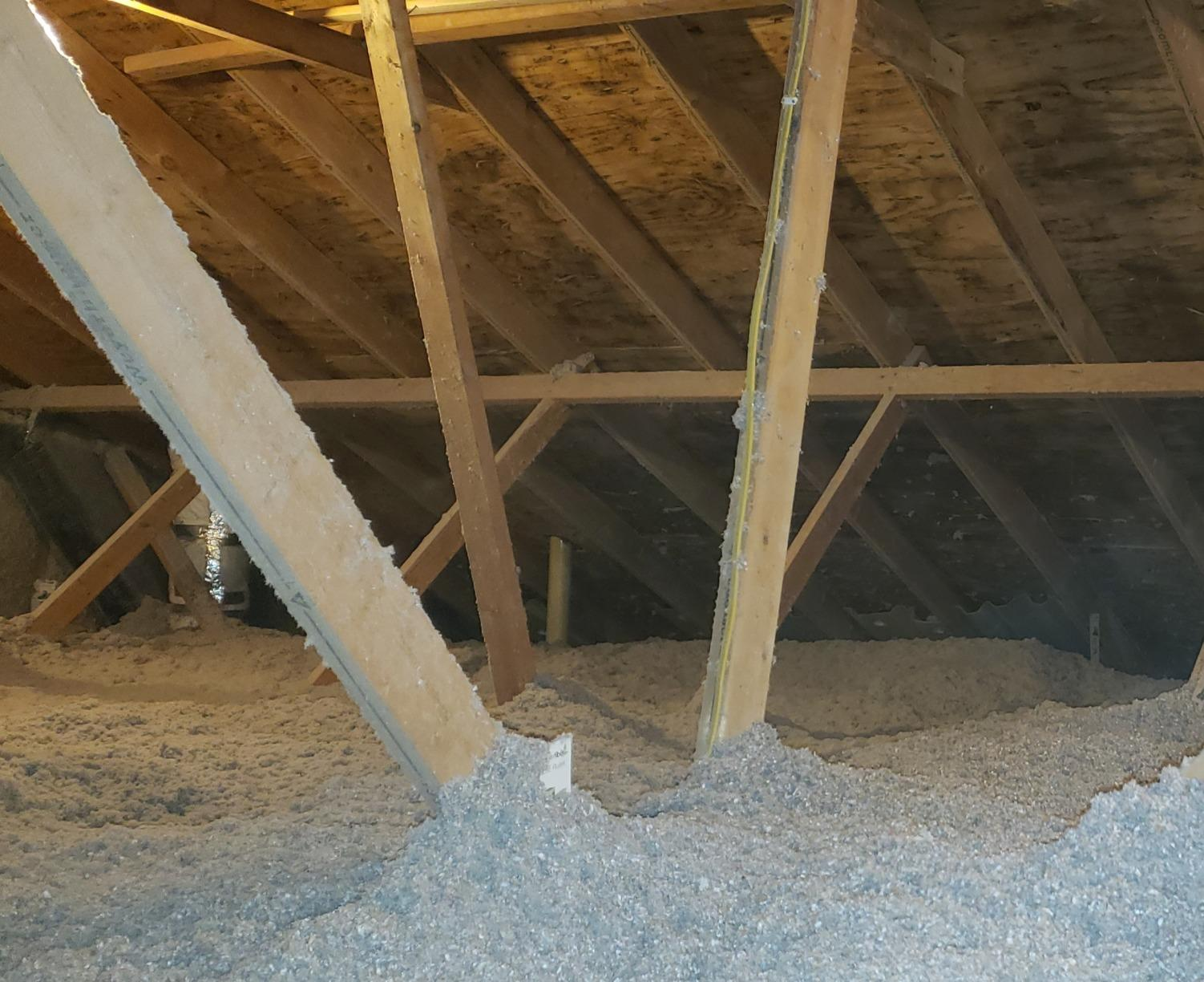 Bellevue Attic Insulation Project - After Photo