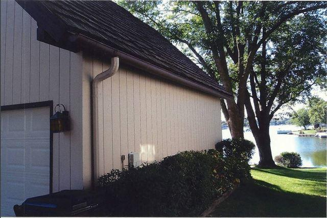 New LeafGuard Gutter System in Valley, NE