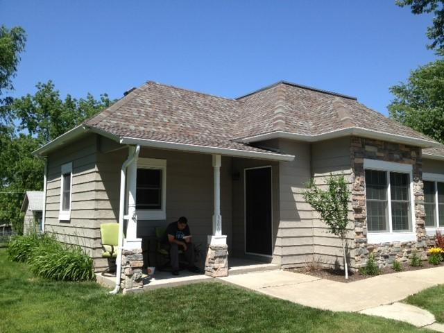 New Rain Gutter Installation in Springfield, NE