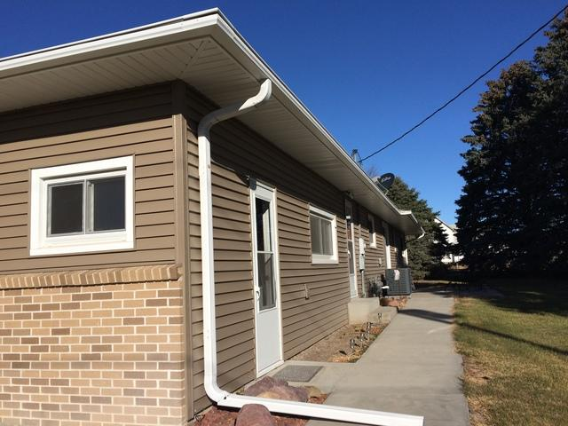 Gutters on St. Edward, NE Home Constantly Clogged