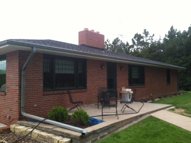 Removal of Open Top Gutters from House in Roca, NE