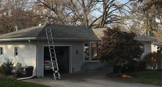 Simpler Gutter System Installed on Crete, NE Home