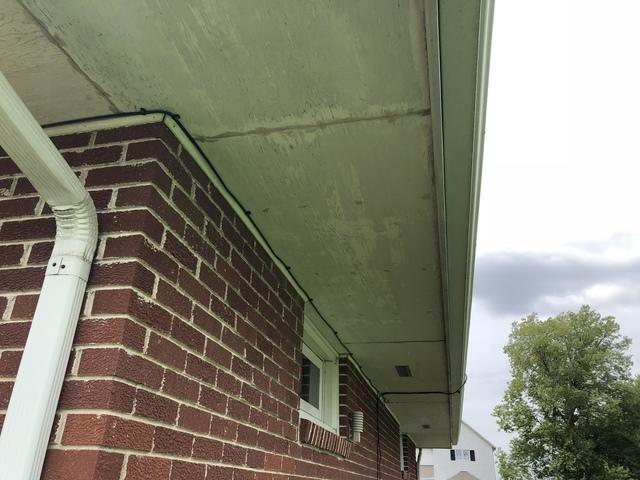 Gutter and soffit replacement in Upland, NE