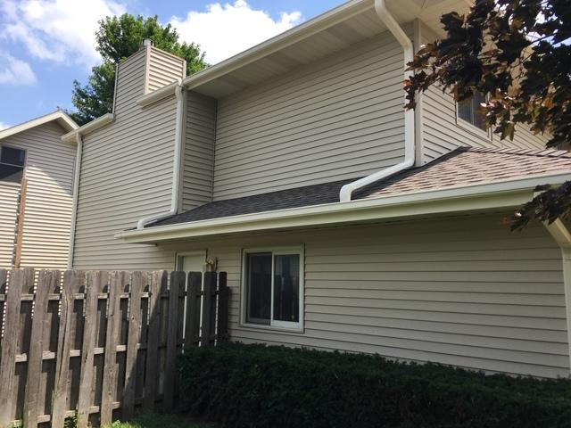 Home in Central City, NE with RainPro Gutter System Installed