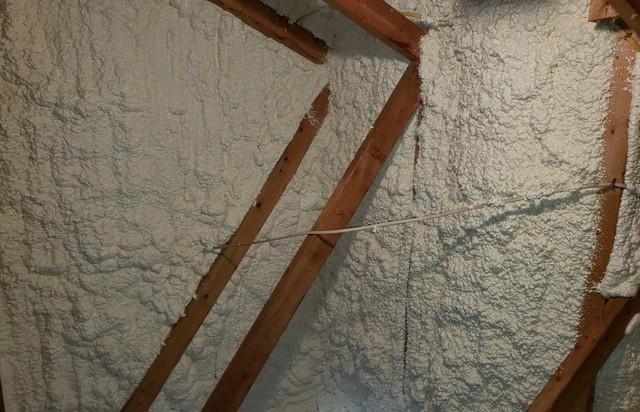 Spray Foam Insulation in York, NE Home Attic
