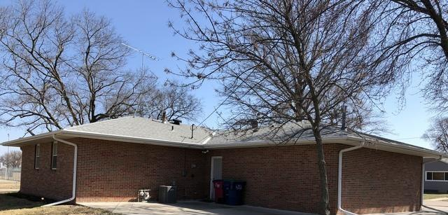 Rain Gutter System Installed on home in Adams, Nebraska