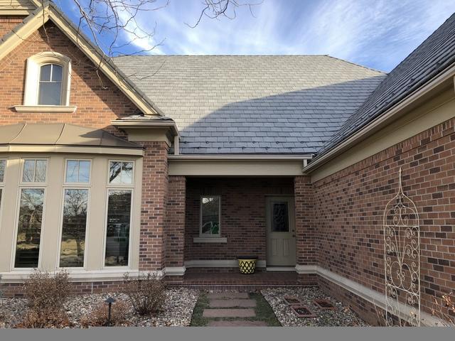 LeafGuard Gutter Install on Front of Home in Elkhorn, NE