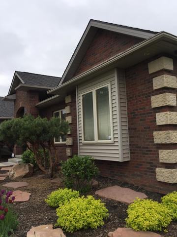 LeafGuard Gutters Installed on home in Bellevue, NE