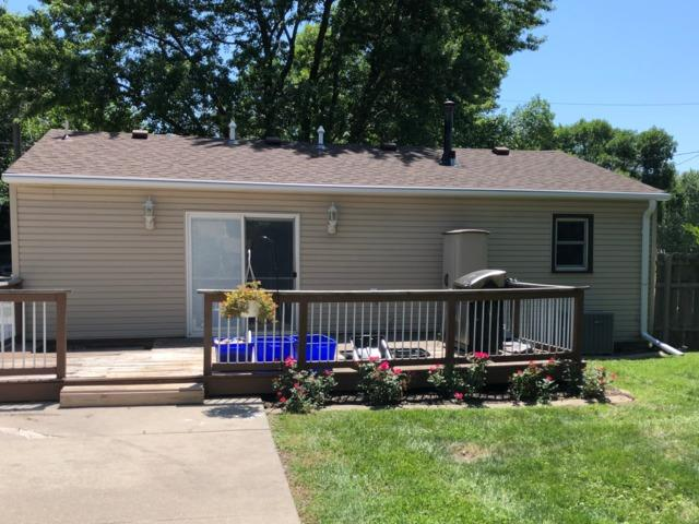 LeafGuard Gutters Installed on Ranch Home in Council Bluffs, IA.