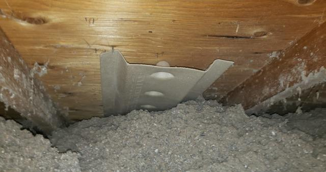Before & After Properly Venting & Insulating Soffit Venting - La Vista, NE