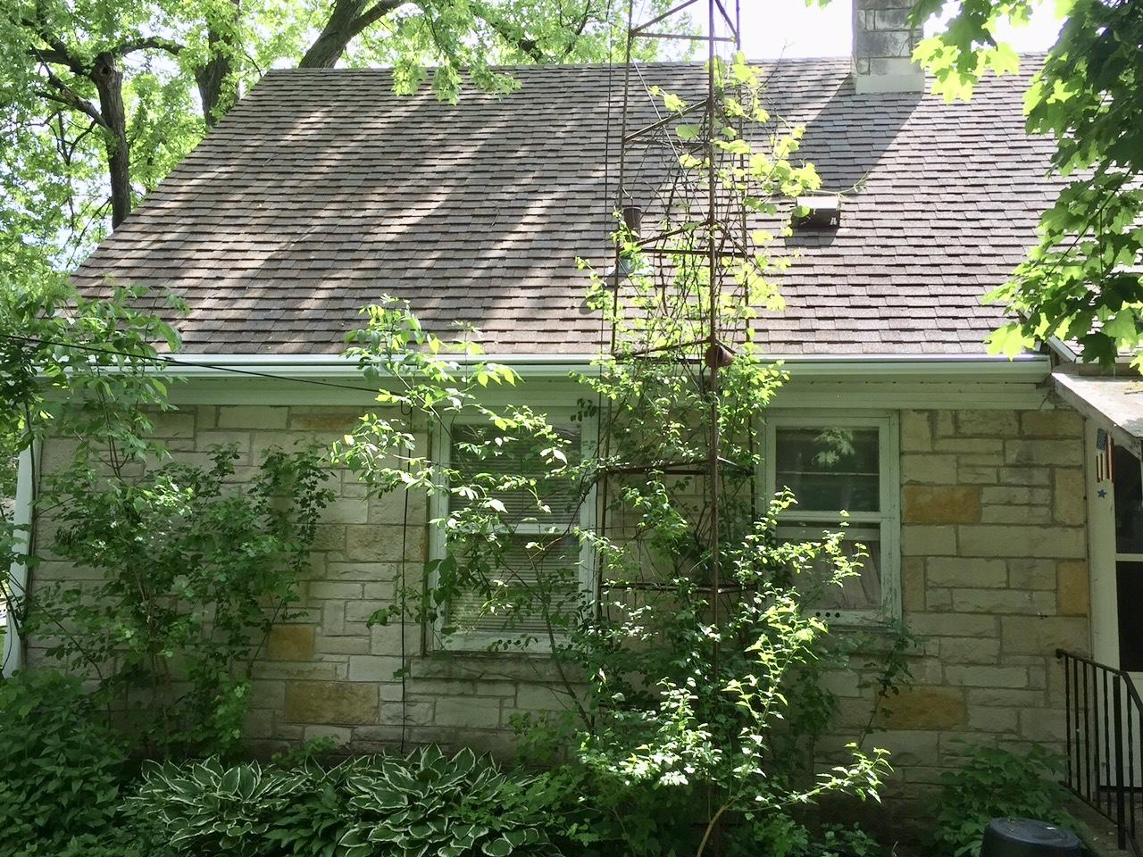 Cozy Cottage Like Home In Stoughton Gets LeafGuard Gutters - After Photo