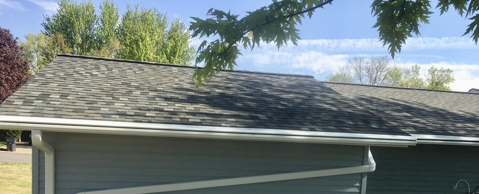 Sun Prairie LeafGuard and GAF Roof Install - After Photo