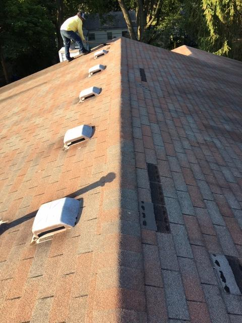 Roof Replacement in Sun Prairie, WI - Before Photo