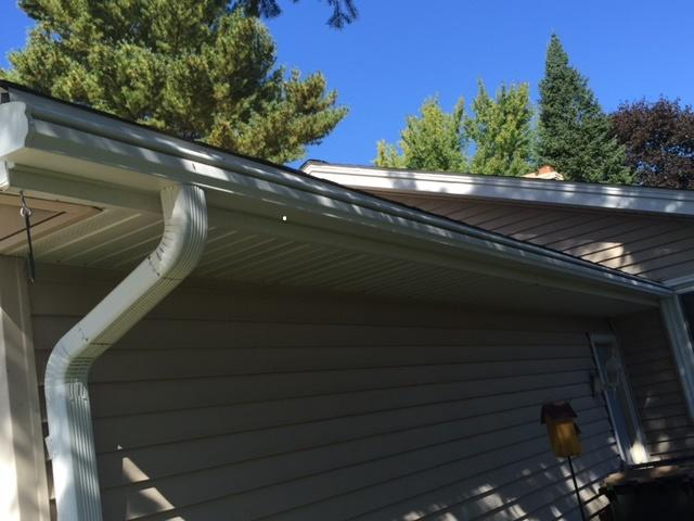 LeafGuard Is Worry Free & Looks Great On This Sun Prairie Home! - After Photo
