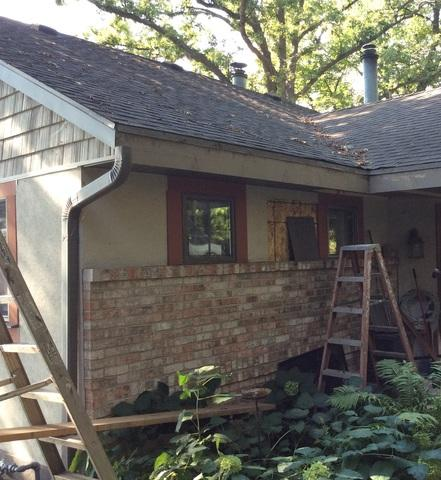 McFarland Lake Home - LeafGuard Gutter System Installation