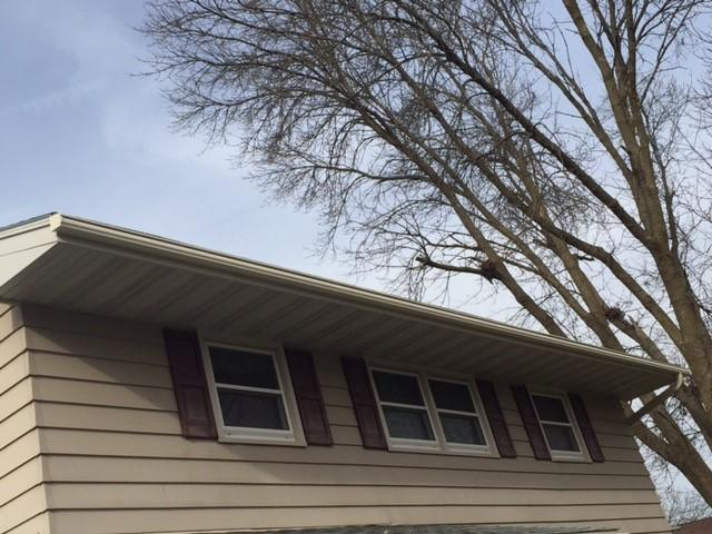 LeafGuard Gutter System Install In Verona WI