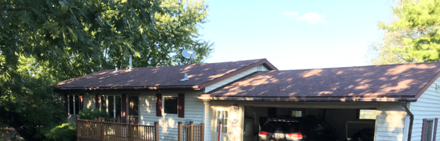 Worry Free Gutters Installed On This Cozy Verona Home