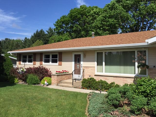 Charming Ranch Home In Dane Gets LeafGuard Gutters