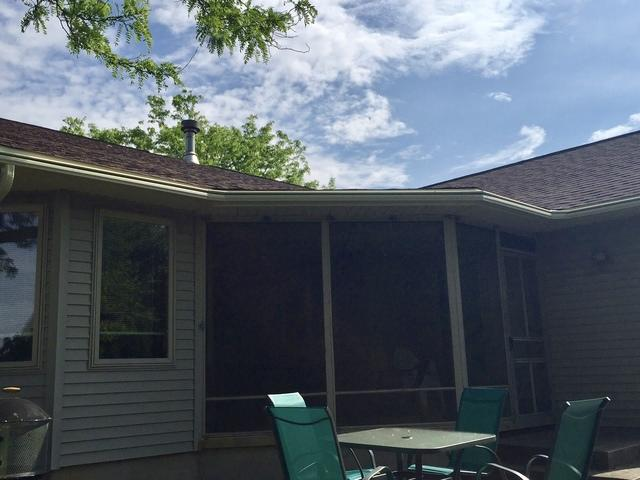 Stoughton Couple Adds LeafGuard Gutters To Their Home - After Photo