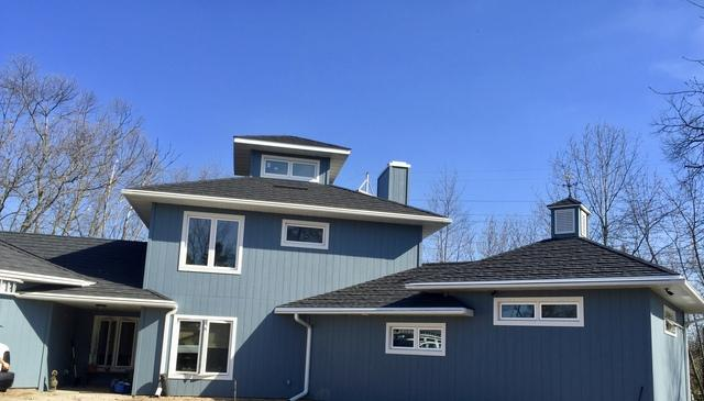 Contemporary LaCrosse, WI Home Gets New LeafGuard Gutter System Installed