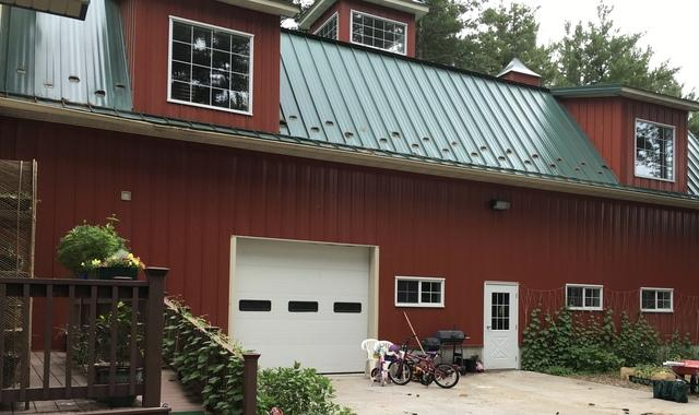 Unique Mazomanie, WI Home Gets LeafGuard Gutters Installed