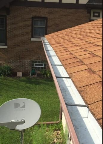 Prairie Du Sac, WI Home Gets Worry Free Gutters
