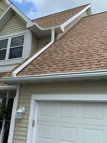 Beautiful Home In Middleton, WI Gets LeafGuard Gutter System
