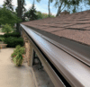 New LeafGuard Gutter System Install In Wuanakee, WI