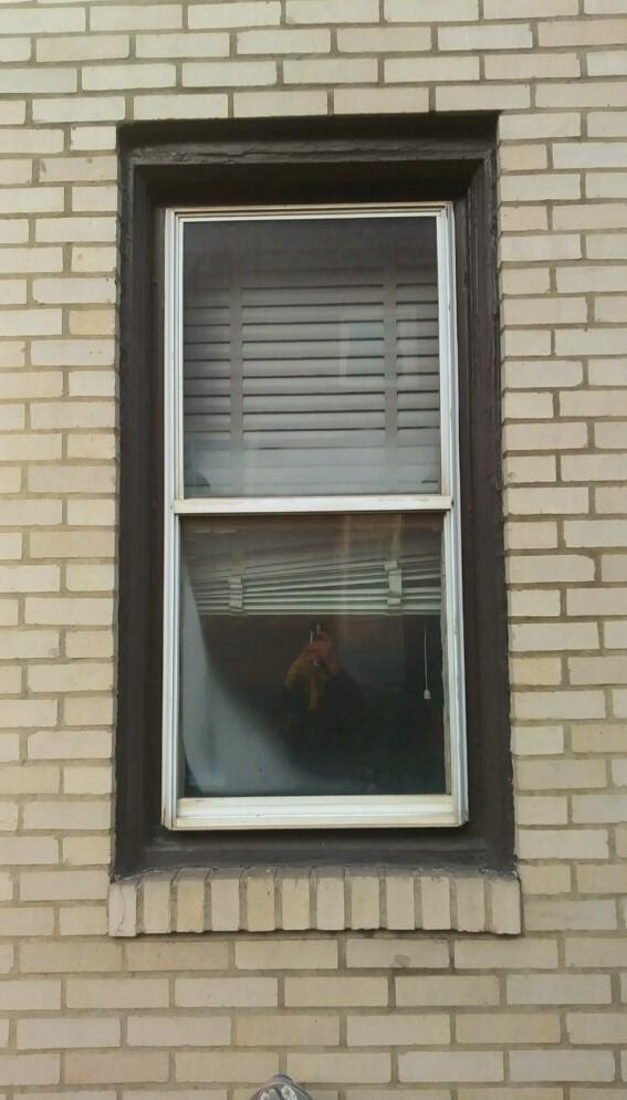 Window Replacement in Pittsburgh, PA - Before Photo