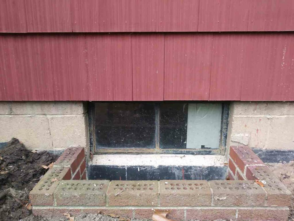 Window Installation in Aliquippa, PA - Before Photo