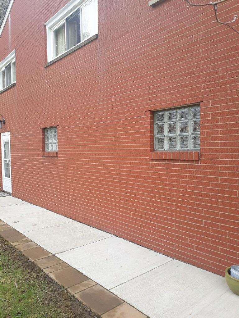 Glass Block Window Installation in Beaver Falls, PA - After Photo
