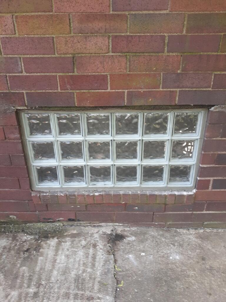 Glass Block Window Replacement in New Brighton - After Photo