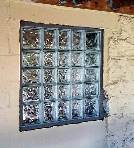 Glass Block Window Installation in Pittsburgh, PA - After Photo