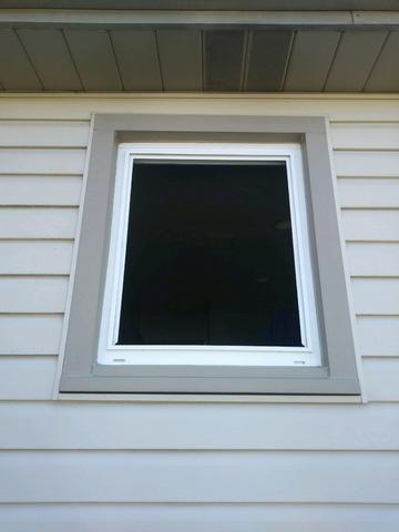 Diamond Patterned Window Installation in Aliquippa, PA - Before Photo