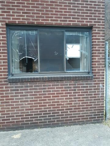 Window Replacement in Aliquippa, PA - Before Photo