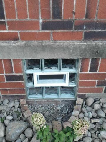 Basement Glass Block Windows with Vent installation in Pittsburgh - After Photo