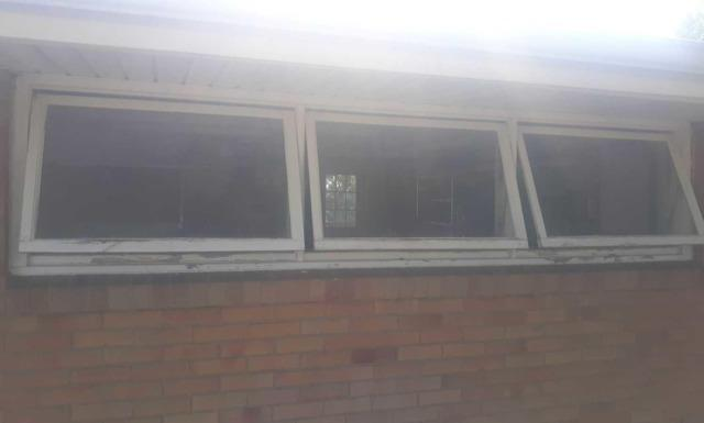 Wave Block Windows installation with two Vents in Monongahela, PA - Before Photo
