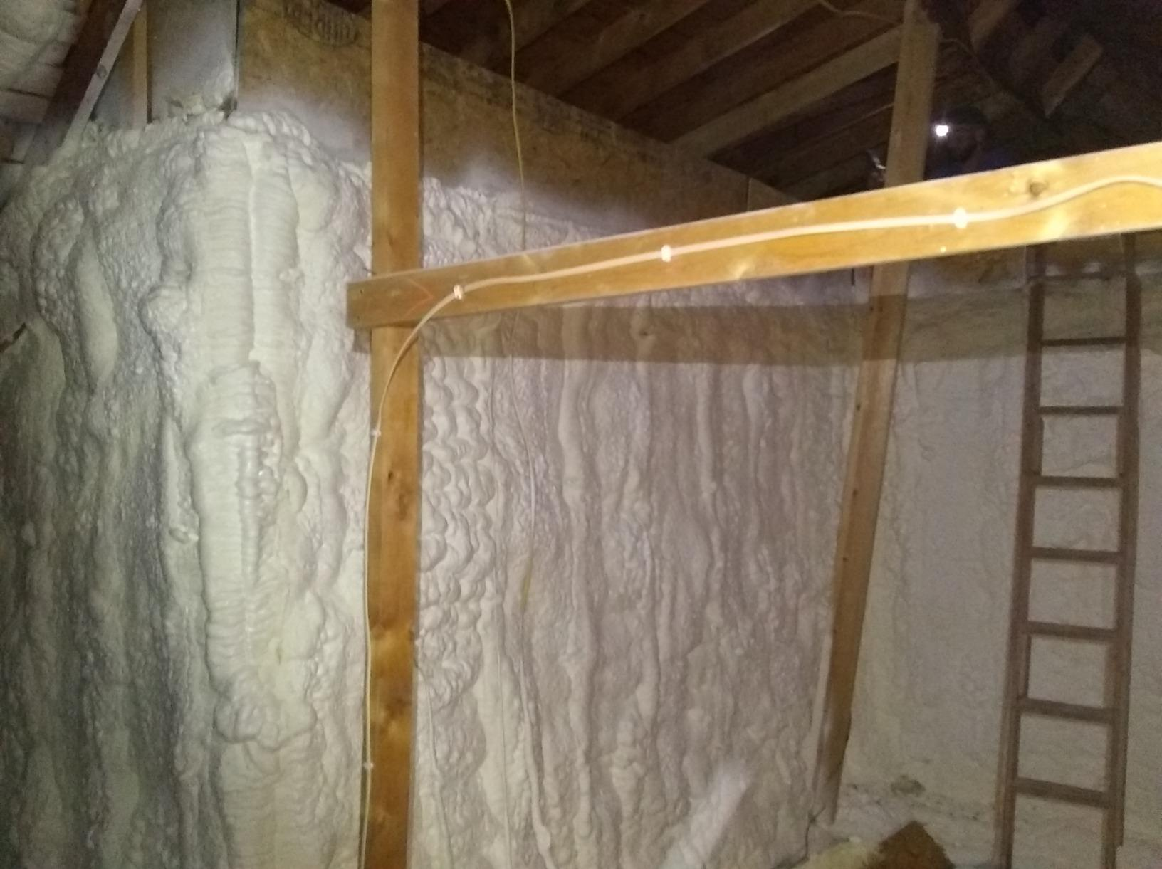 Knee Wall Insulation in Stilwell, Ks - After Photo