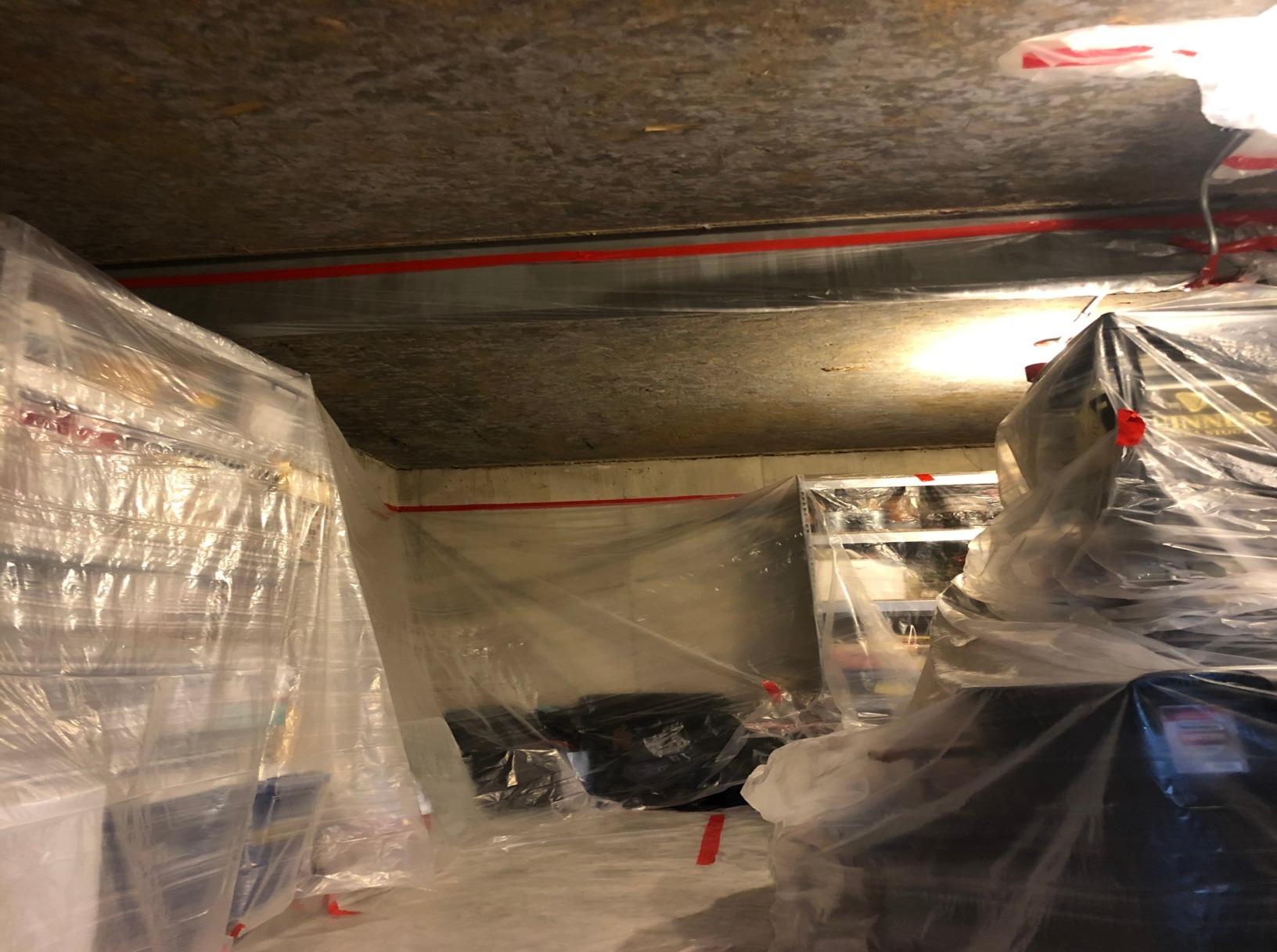 Closed Cell Spray Foam in Leawood, Ks - Before Photo