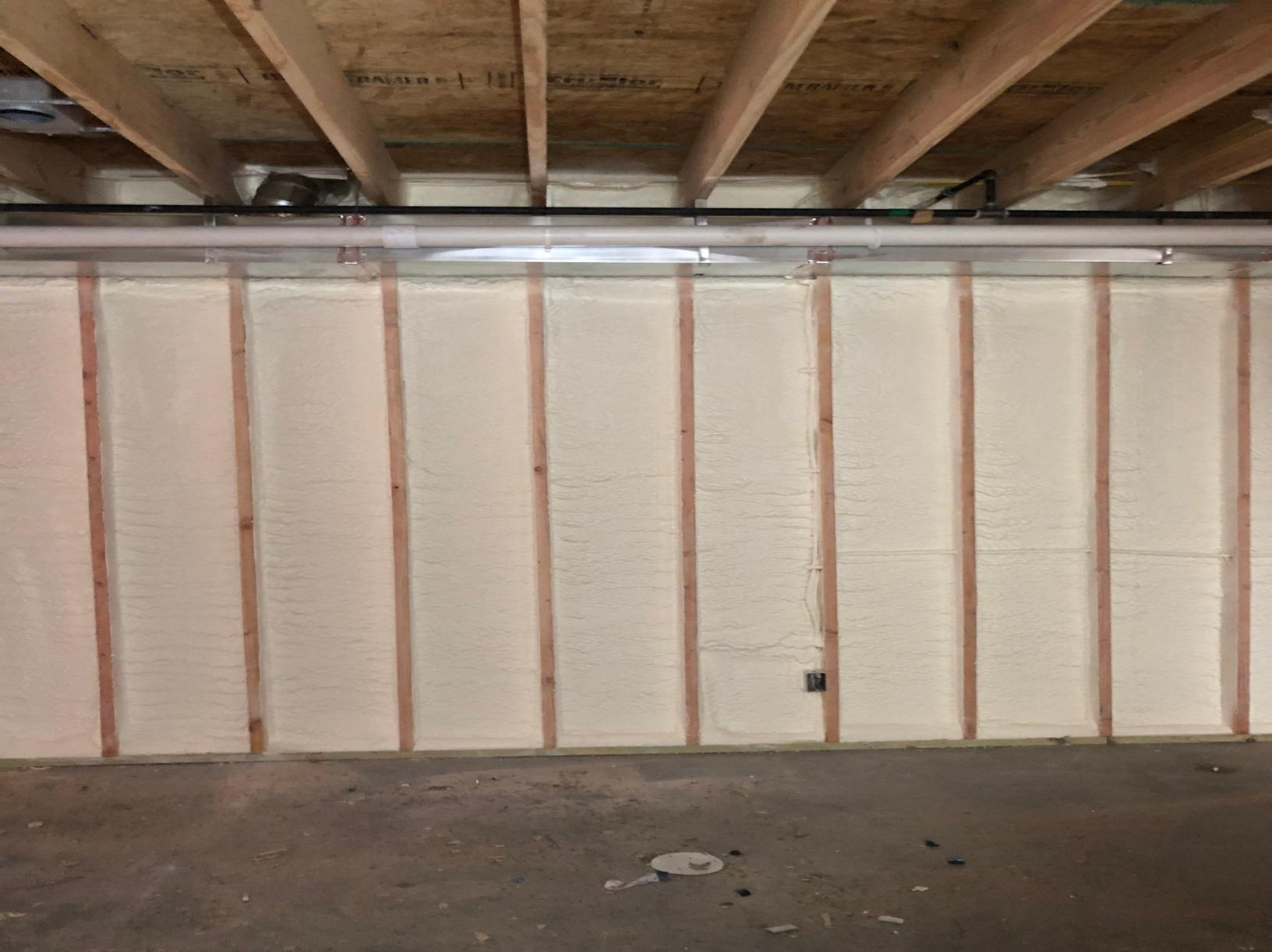 Basement Wall Insulation in Lawrence, Ks - After Photo