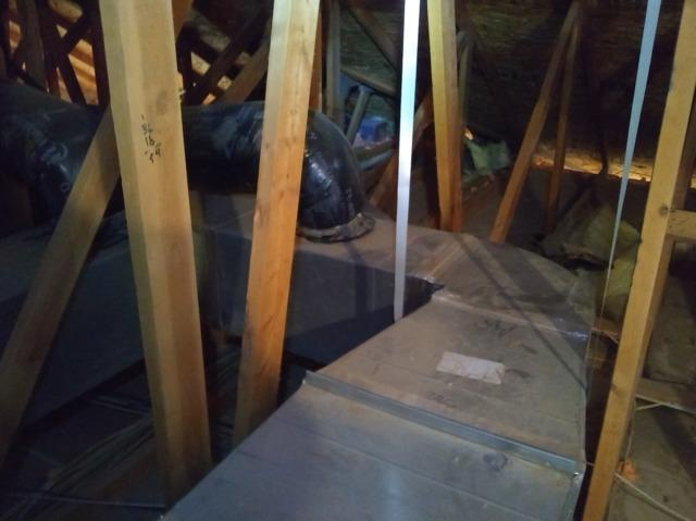 Ductwork Sealing in Kansas City, Ks - Before Photo