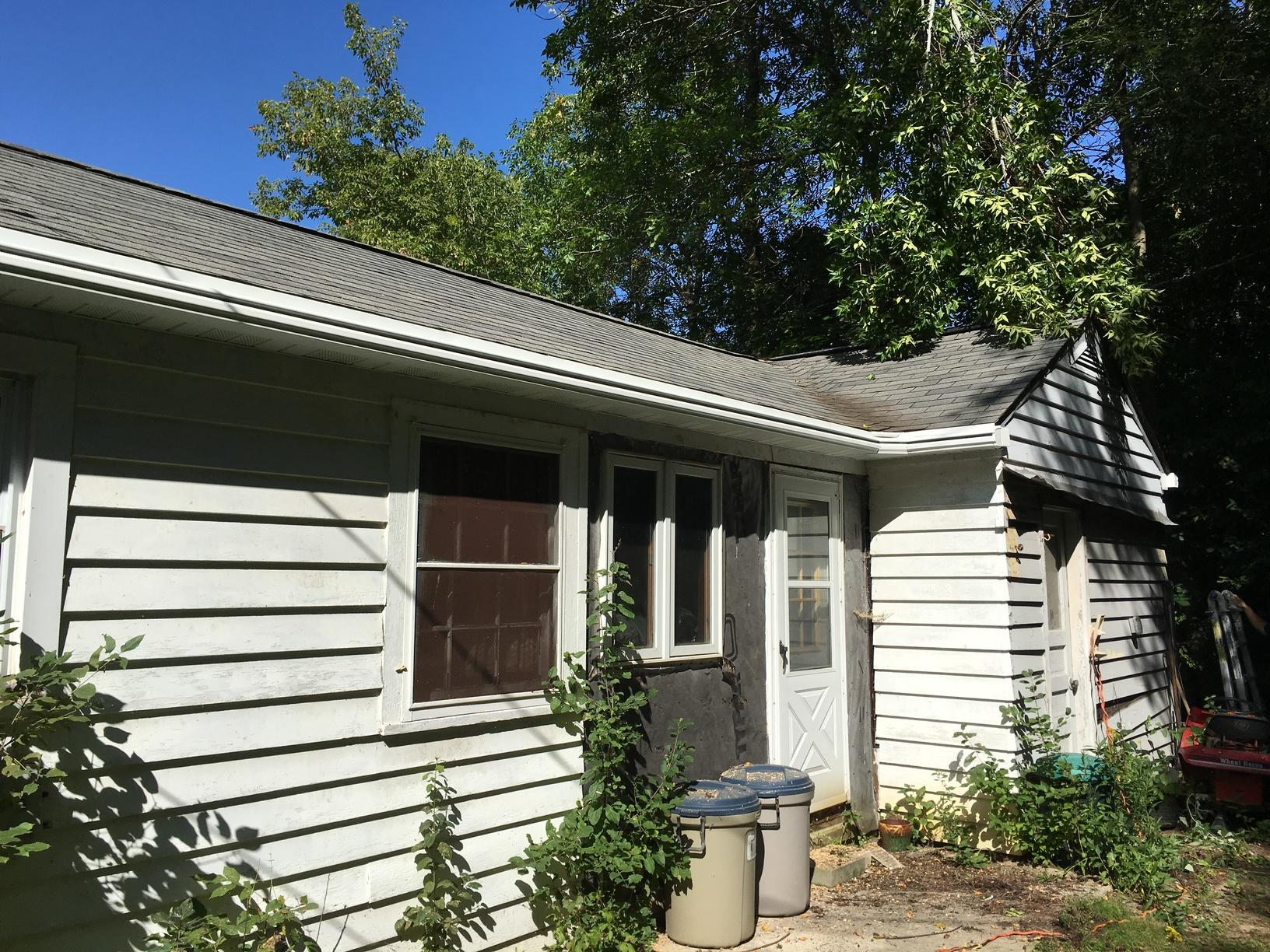 LeafGuard gutters installed on home in Sheboygan, Wisconsin - After Photo